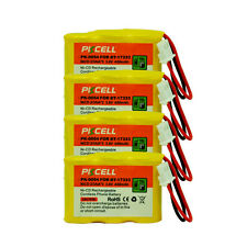 4PC Cordless Phone Battery Replacement NiCd 2/3AA 300mAh 3.6V for VTech BT-17333