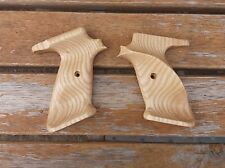 CROSMAN CUSTOM ASH  WOODEN GRIPS  TO FIT 2240,2250,1377 AND 1322
