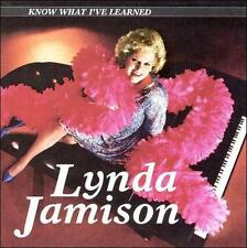 CD Know What I've Learned - Lynda Jamison