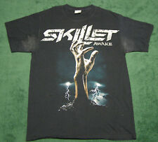 Skillet Christian Rock Band Awake T-Shirt Black size M