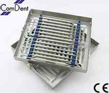 Conjunto de 15 de implante dental sinusitis Lift Elevadores periotomes extracción Set Nuevo S4
