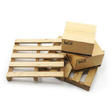 Yeah Racing 1/10 RC Crawler Moving Boxes & Wooden Pallets YA-0399