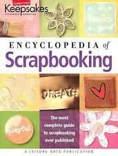 ENCYCLOPEDIA OF SCRAPBOOKING Paperback Book Tracy White 2005