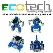 ECOTech 3-in-1 Educational Solar Powered Toy Robot Kit