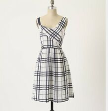 MOULINETTE SOEURS Anthropologie Know The Ropes Silk $148 Dress Medium