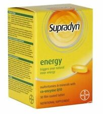 SUPRADYN Energy 30 Tabs BAYER with Co-enzyme Q10/Triggers Body's Own Energy