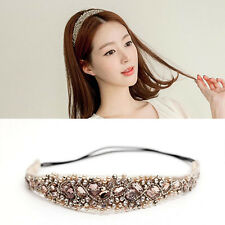 Head Hairband Headband Rhinestone Crystal Metal Lace Pearl Women Girls Fashion