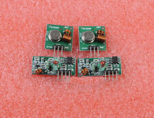 FO01 2pcs / 2 Sets 433Mhz RF Transmitter And Receiver Kit For Arduino HGUK