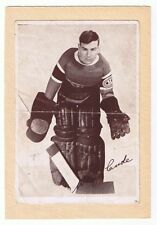 1935-40 Wilf Cude #59 Montreal Canadiens Crown Brand Premium Hockey Photo
