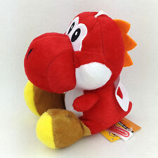 Nintendo Super Mario Brothers Bros 7IN Rouge Yoshi Peluche Poupée