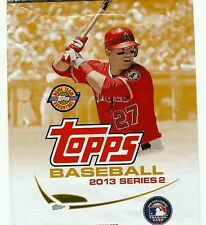 2013 Topps Baseball Series 1, 2, and Update complete your set you pick 20 cards