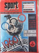 SPORT ILLUSTRATO n°25 1955  con foto Virtus Bologna Campione Italia  [G41]