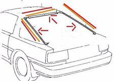 TOYOTA SUPRA NEW REAR WINDOW TRIM MOULDING OEM - 3 PIECE  MKiii MK3 1986 - 1992