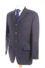 RSVP MILANO PLAIN NAVY MEN'S SUIT JACKET 38R DRY-CLEANED