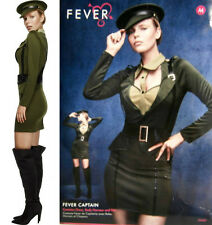 SEXY FEVER CAPTIVATING CAPTAIN HALLOWEEN COSTUME X SMALL 2 - 4