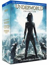Underworld Collection (3 Blu-Ray+ 1 Blu Ray 3D) Cofanetto Nuovo