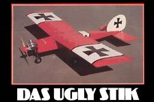 """Das Ugly Stick""   60 inch  RC AIrplane Printed Plans & Templates"