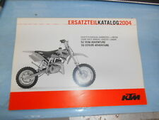 2004 KTM 50 Mini Senior Adventure Chassis & Engine Spare Parts Manual 3208113
