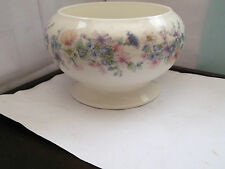 WEDGWOOD FOOTED ROSE / POSY BOWL IN ANGELA PATTERN  NO WIRE NET  BACKSTAMP WHOLE