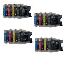 16 Printer cartridges for Brother,choose colour,mfc J6710DW,mfc-J6710DW,mfc