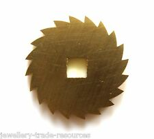 21mm REPLACEMENT BRASS CLOCK WINDING RATCHET WHEEL SPARES REPAIRS PARTS