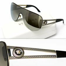 $465 GIANNI VERSACE Men's GOLD MEDUSA SUNGLASSES