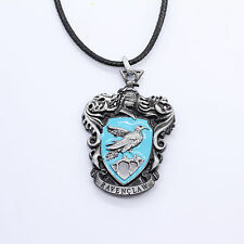 New Harry Potter Ravenclaw Logo Metal Necklace Keychain Silver Color