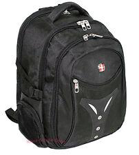 Mochila ordenador portátil mochila maleta suizo cruz negro 604