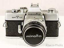 Minolta: Minolta SRT-101 + MINOLTA Mc ROKKOR  1,7/55 mm 1966