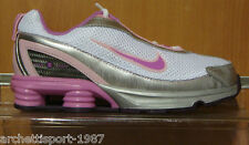 Nike Little Shox Turbo IV 315542161 White-Cool Rose airmax silver97 rosherun