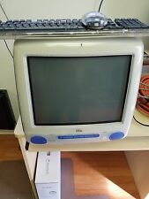 Vintage Indigo Blue Apple iMac G3 M5521, 350 MHZ, 192 MB,