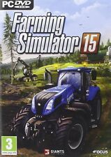 Farming Simulator 15 PC NUOVO NEW ITA FRA E ING