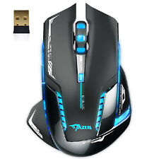 Hot E-3lue 6D Mazer II 2500 DPI Blue LED 2.4GHz Wireless Mouse Gaming Mouse Mice