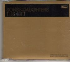 (DH411) Sons & Daughters, This Gift - 2007 DJ CD