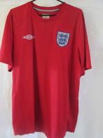 England 2010-2011 Away Football Shirt Size Large /9095
