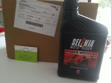 OLIO SELENIA 10 LITRI POWER-SPEED 4T SAE 10W-40 PIAGGIO LIBERTY-APRILIA