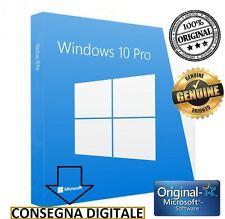 LICENZA WINDOWS 10 PRO PRODUCT KEY 32 64 BIT PROFESSIONAL ATTIVAZIONE MICROSOFT