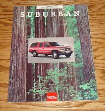 Original 1993 GMC Truck Suburban Sales Brochure 93