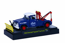 M2 MACHINES AUTO-TRUCKS 1958 CHEVROLET APACHE TOW TRUCK 1:64 REL 36 BOXED