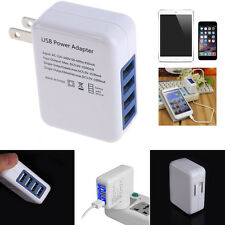 3.5A 4 Port USB Home Wall Charger AC Adapter US Plug for Cellphone Tablet GPS