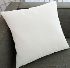 White Velvet Solid Decorative Throw Pillow Cover / Cushion Cover / 16x16""