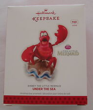Hallmark 2013 Disney Little Mermaid Sebastian Under the Sea Christmas Ornament