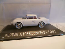 RENAULT ALPINE A108 COUPE 2+2 1961  1/43 G87