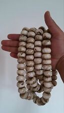 "Tibetan Buddhist Huge Conch Shell 108 Prayer Beads 62"" - Nepal"