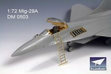 Dream Model 0503 1/72 MiG-29A Detail Up Resin and Etching Parts for Hasegawa