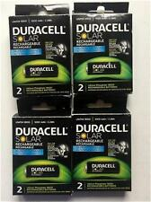 4 -2 Packs Duracell Solar Rechargeable Batteries Lithium  18500 LifePO4-NEW