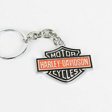HARLEY DAVIDSON HD BAR SHIELD COLOR LOGO Key Chain Portachiavi rimorchio