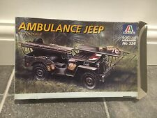 Italeri Model Kit 326 - Ambulance Jeep 1/35