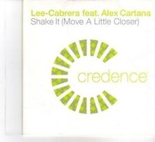 (DF594) Lee-Cabera ft Alex Cartana, Shake It - 2003 DJ CD