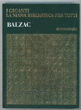 BALZAC HONORE' DE I GIGANTI MONDADORI 1969